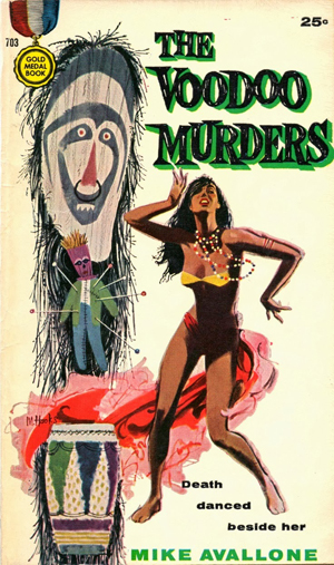 Ed Noon: The Voodoo Murders by Michael Avallone